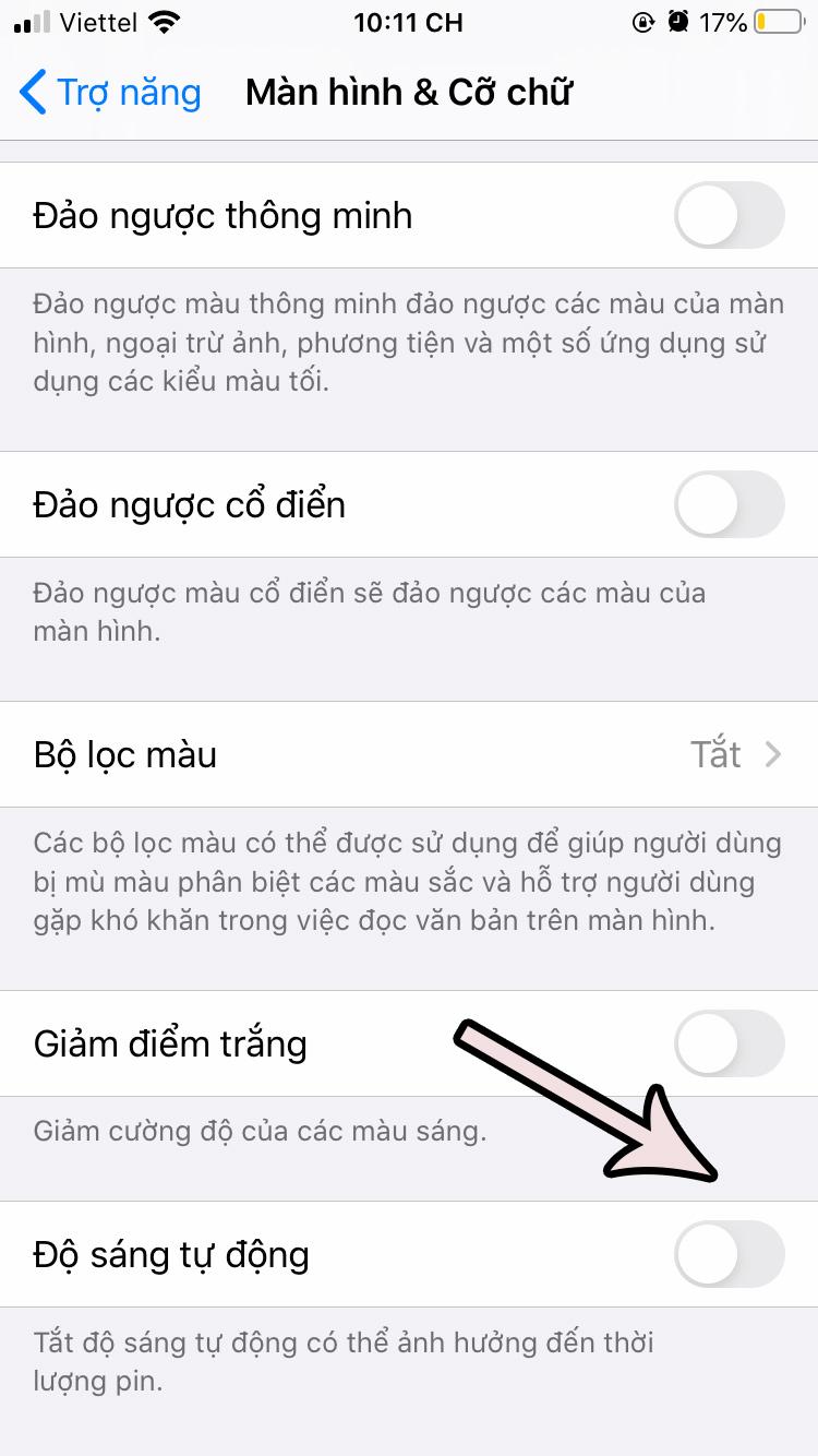 cach-tat-do-sang-tu-dong-tren-ios-13-3 Cách tắt độ sáng tự động trên iOS 13 cho iPhone