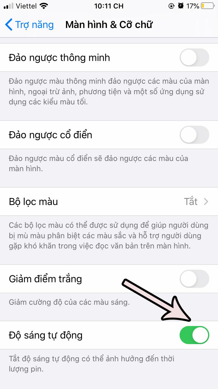 cach-tat-do-sang-tu-dong-tren-ios-13-4 Cách tắt độ sáng tự động trên iOS 13 cho iPhone
