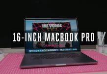 MacBook Pro 16 inch ra mắt