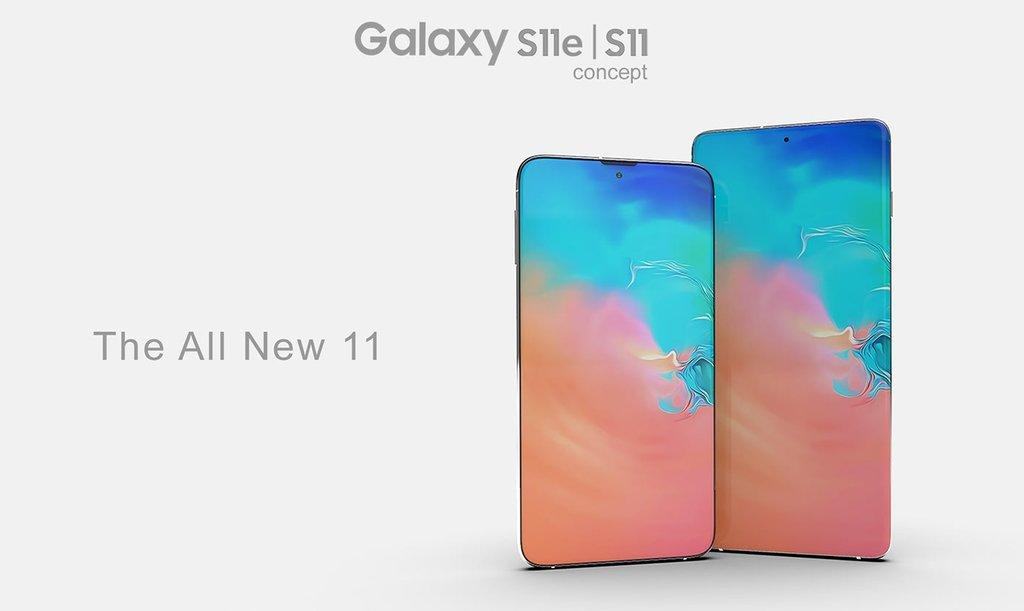 rò rỉ thiết kế Galaxy S11