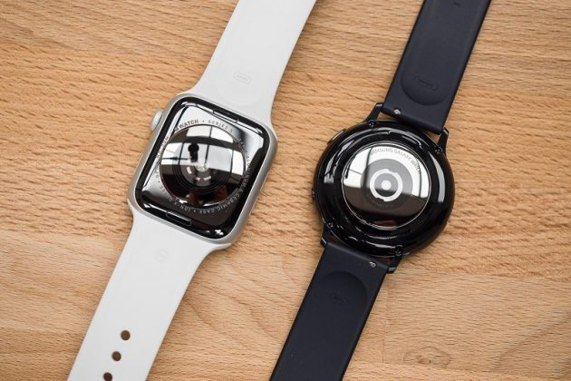 So sánh Apple Watch Series 5 vs Samsung Galaxy Watch Active 2