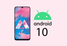 Android 10 cho Galaxy M20