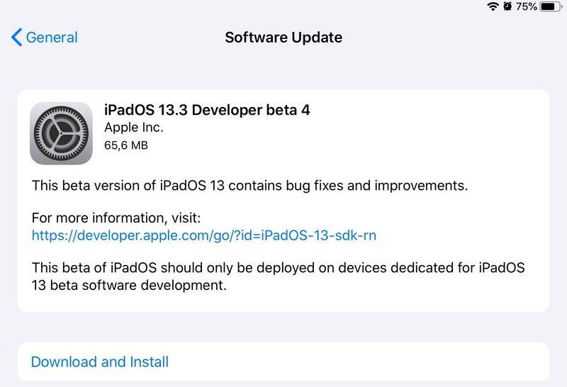 Apple phát hành iOS 13.3.4