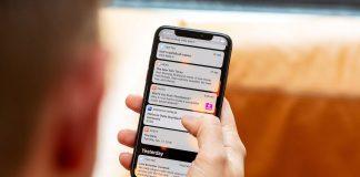 Cách Chạm để sáng màn hình trên iOS 13
