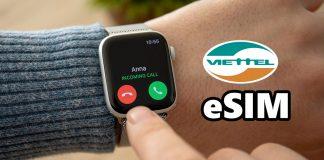 Cách thêm eSIM cho Apple Watch