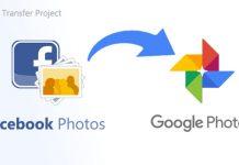 chuyển ảnh Facebook sang Google Photos
