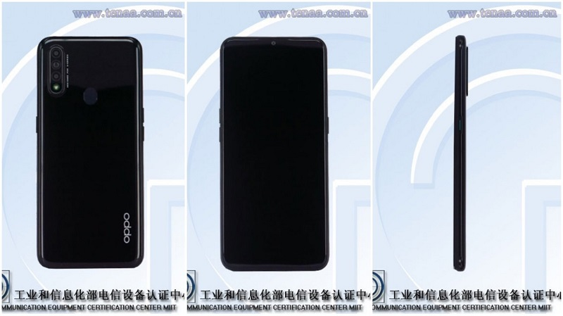 ro-ri-dien-thoai-oppo-moi-1 Điện thoại Oppo tầm trung mới: Màn hình 6,5inch, 3 camera, cảm biến vân tay phía sau