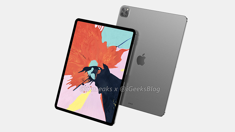 Thiết kế iPad Pro 2020