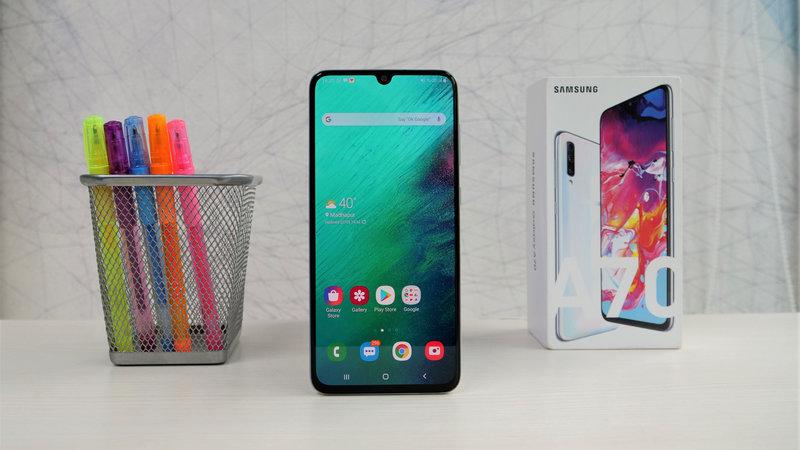bản cập nhật cho Galaxy A70