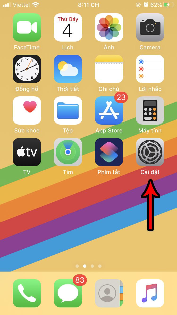 Cách chỉnh kích thước chữ iPhone và iPad