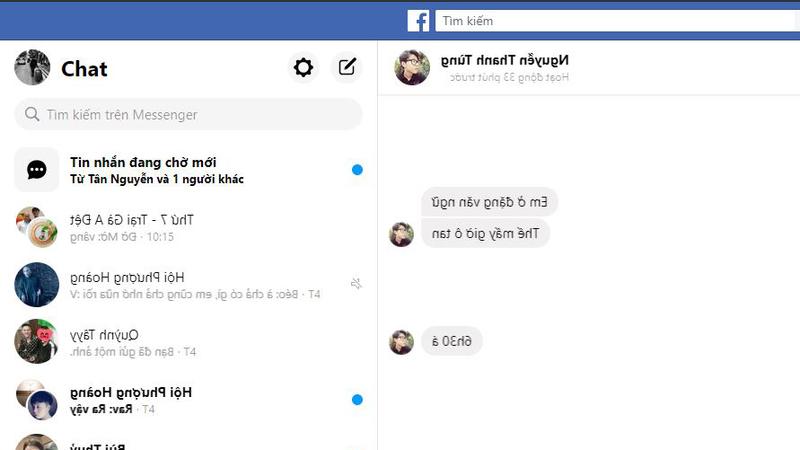 đọc trộm tin nhắn trên Messenger