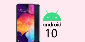Galaxy A50 android 10