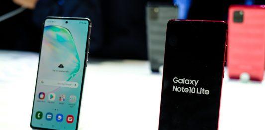 Galaxy Note 10 Lite lên kệ