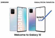 Galaxy Note 10 Lite ra mắt
