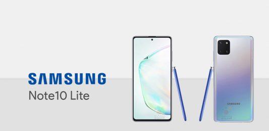 Galaxy Note10 Lite ra mắt