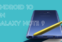 Galaxy Note9 cập nhật Android 10