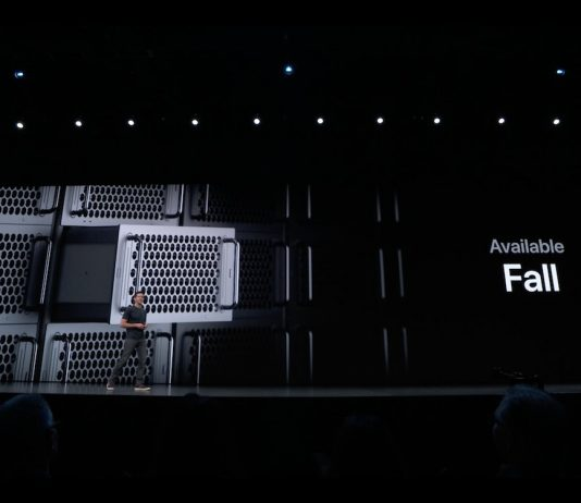 Mac Pro phiên bản giá đỡ