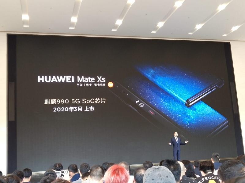 Rò rỉ Huawei Mate XS
