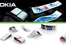 Smartphone màn hình gập của Nokia