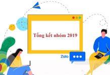 Tổng kết năm 2019 cùng Zalo
