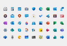 biểu tượng Windows 10