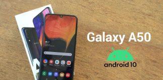Galaxy A50 lên đời Android 10
