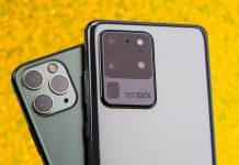 galaxy s20 ultra và iPhone 11 Pro Max