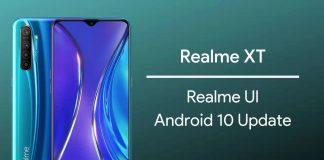 realme XT cập nhật android 10
