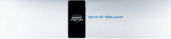 dịch vụ khử trùng của Samsung