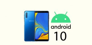android 10 cho galaxy a7 2018