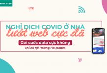 những gói cước data 4G