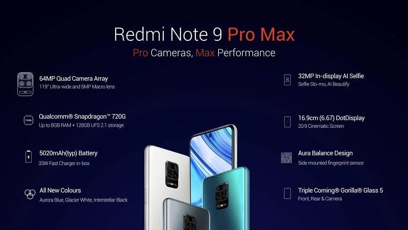 redmi note 9 pro ra mắt