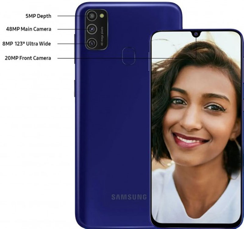 Samsung Galaxy M21 ra mắt