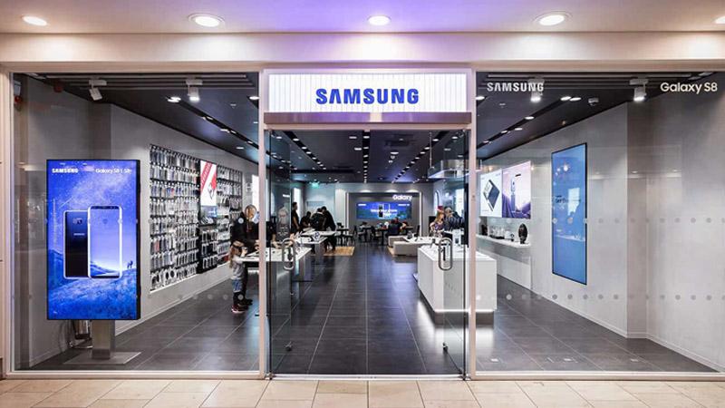 Samsung ngừng hoạt động cửa hàng