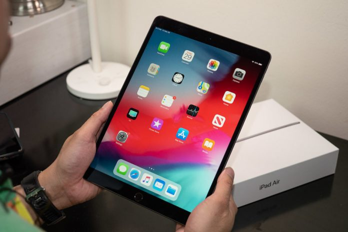 Rò rỉ iPad Air mới