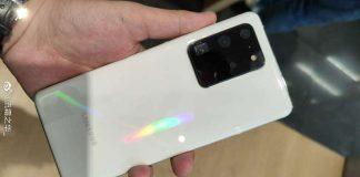 Galaxy S20 Ultra màu trắng xuất hiện thực tế
