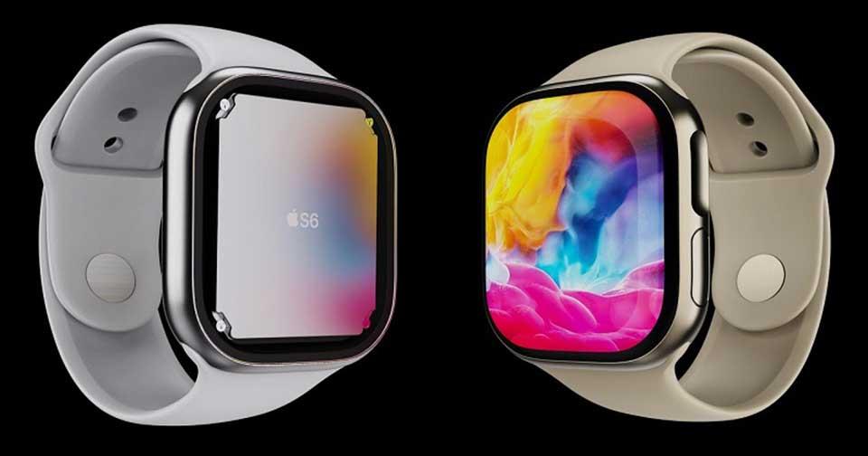 thiết kế Apple Watch Series 6
