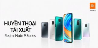 Redmi Note 9 Series ra mắt