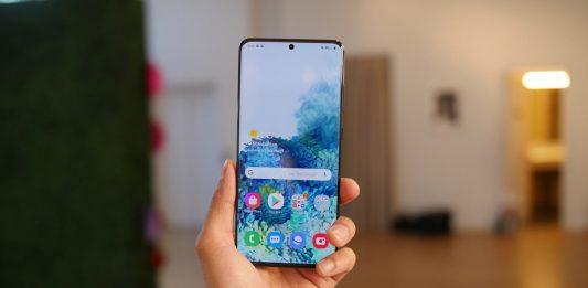 Chỉnh thời gian sáng màn hình Galaxy S20