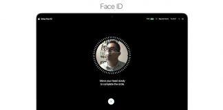 face id trên mac