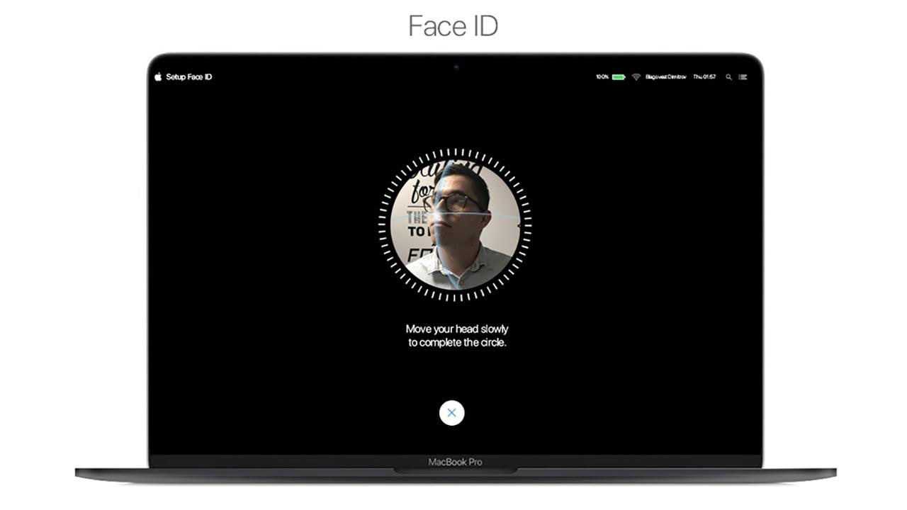 Bảo mật Face ID chuẩn bị có mặt trên máy tính Mac   Hoàng Hà Mobile
