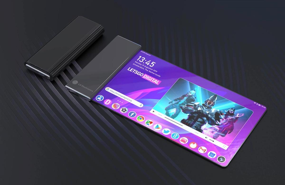 điện thoại màn hình cuộn