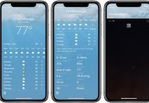 Apple-Weather