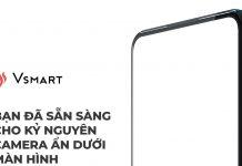 smartphone camera ẩn dưới màn hình