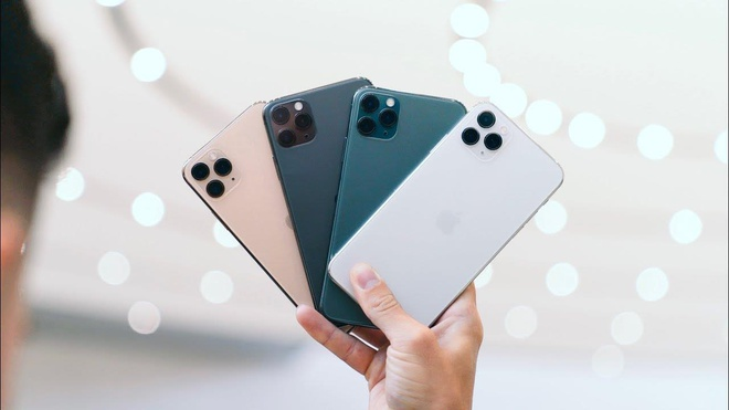 Apple ngừng sản xuất iPhone 11