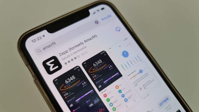 App Amazfit đổi tên thành Zepp