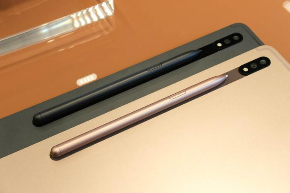 Trên tay Galaxy Tab S7