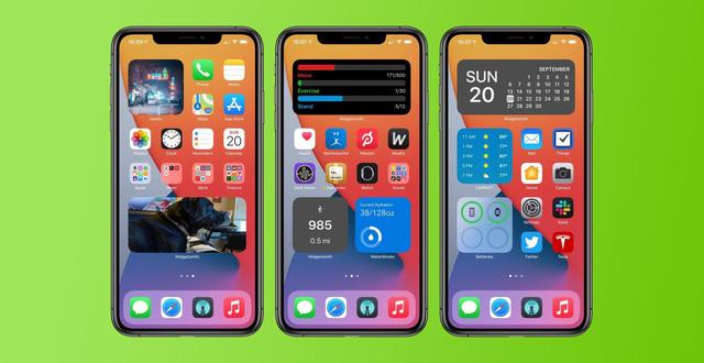 ứng dụng tạo widget iOS 14