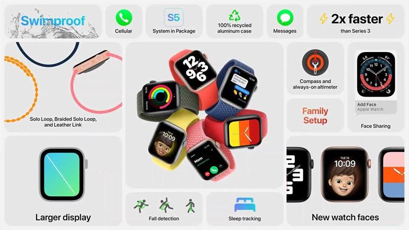 đánh giá Apple Watch SE