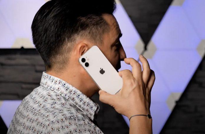 video trên tay iPhone 12 Mini